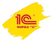 Логотип фирмы 1С